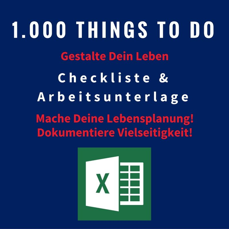 1.000 Things To Do
