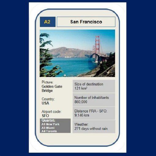 Kartenspiel Reisequartett Autoquartett