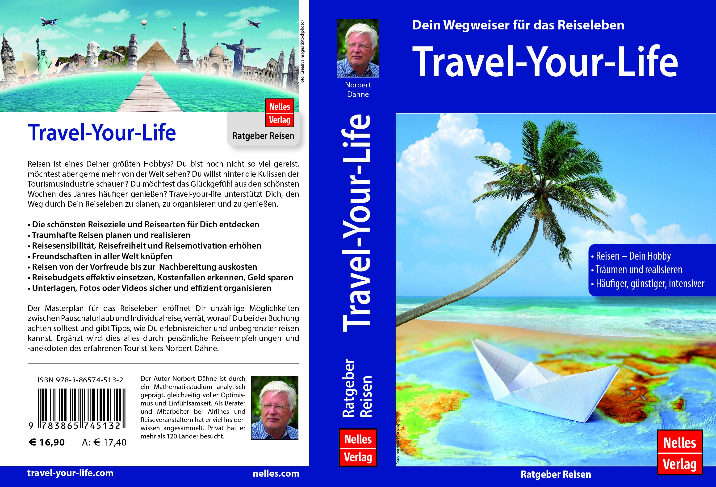 Buch als Wegweiser für Hobby Reisen und Reiseleben