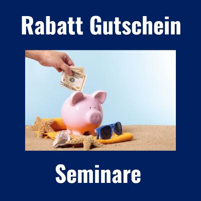 Sparen bei Seminaren